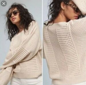 Moth Anthropologie Wide Sleeve Sweater Medium